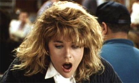 "Sally, dat girl. D-D-D-D-Dat girl. Meg Ryan as ""Sally"" from the film ""When Harry Met Sally."""